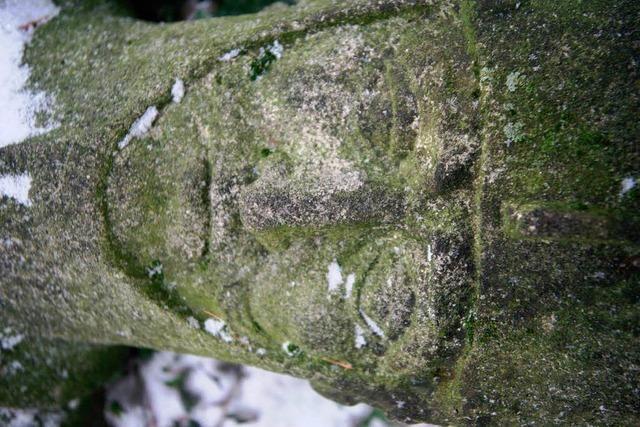 Sensationsfund: Alte Grabfigur in Meißenheim aufgetaucht