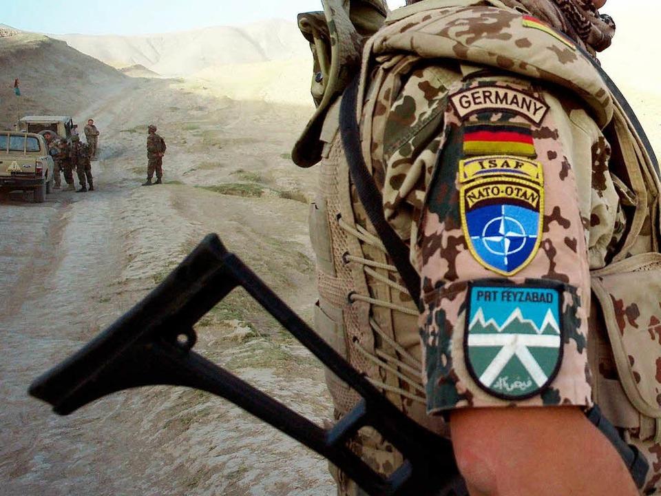 Deutscher Soldat in Afghanistan.  | Foto: dpa