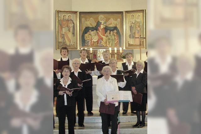 Konzert mit Chor und Orgel