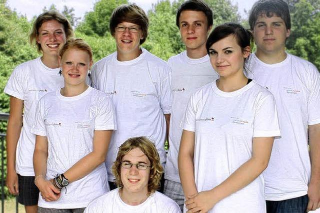 ENTER: Acht Schüler, zwei Lehrer, ein Ziel!