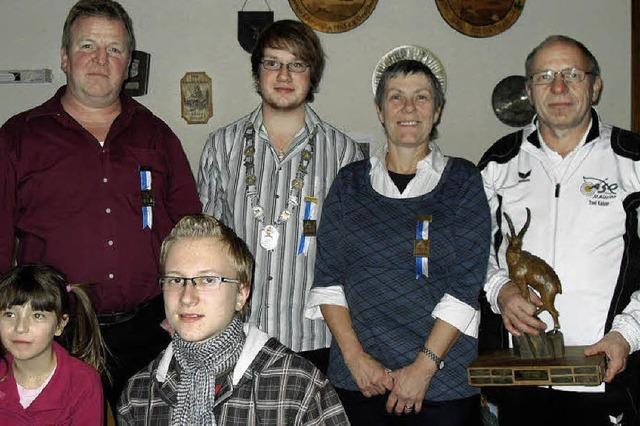 Andreas Lohn ist der neue Schützenkönig