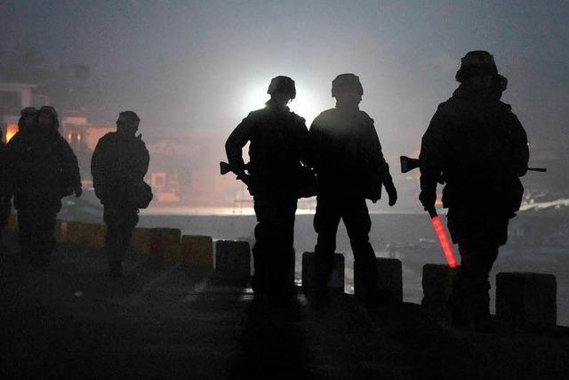 Südkorea beginnt mit Schießübungen