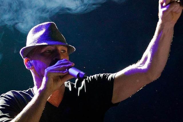 Flink und freudig: Reggae-Star Gentleman in Freiburg