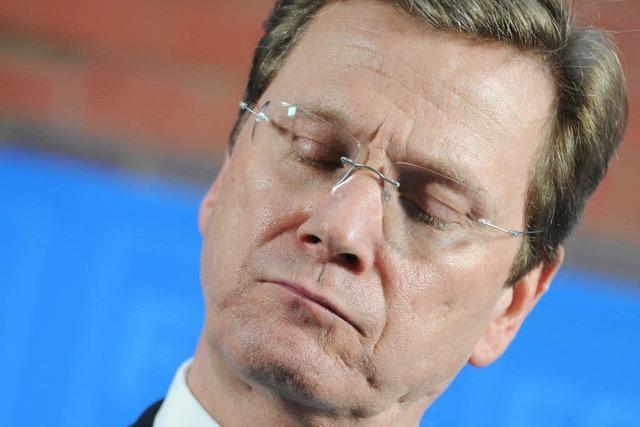 Guido Westerwelle will an der Spitze der FDP bleiben