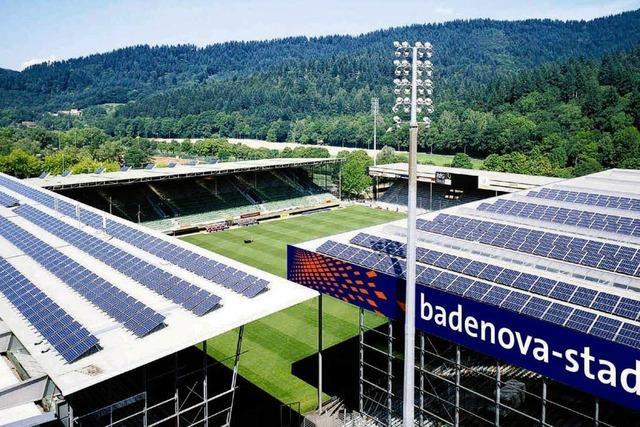 Sponsoring verlängert: SC spielt bis 2014 im Badenova-Stadion