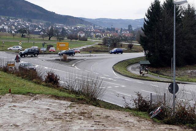 Seelbach begrüßt Kreisel am Dreispitz