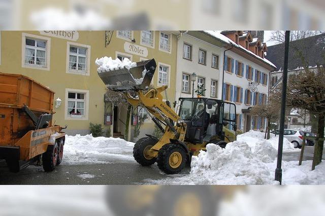 Ein Lob für den Winterdienst