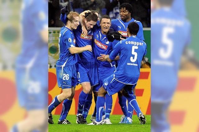 Hoffenheim und Schalke weiter