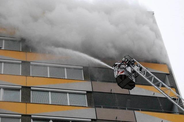 Brand in Rheinfelden: Ethanol-Kamin ist Auslöser