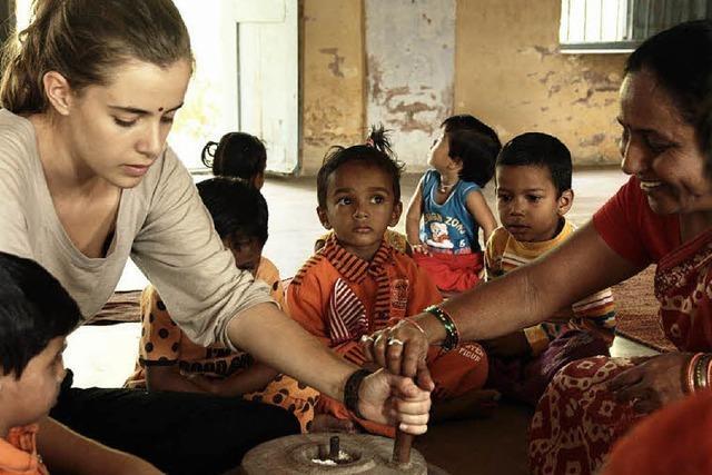 Kenzinger Abiturientin Cristina Zerr berichtet über ihre Eindrücke in Indien