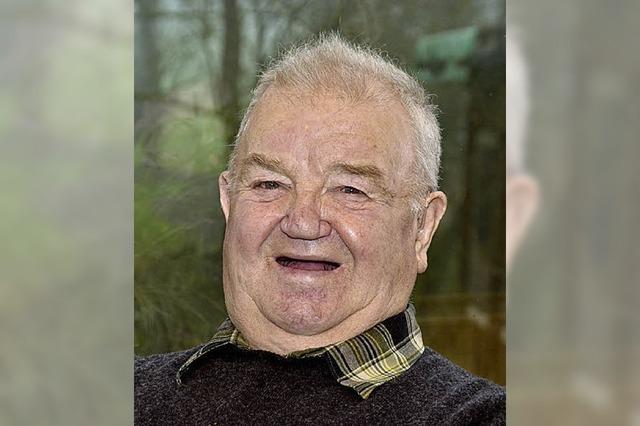 Willi Gutjahr wird 80 Jahre