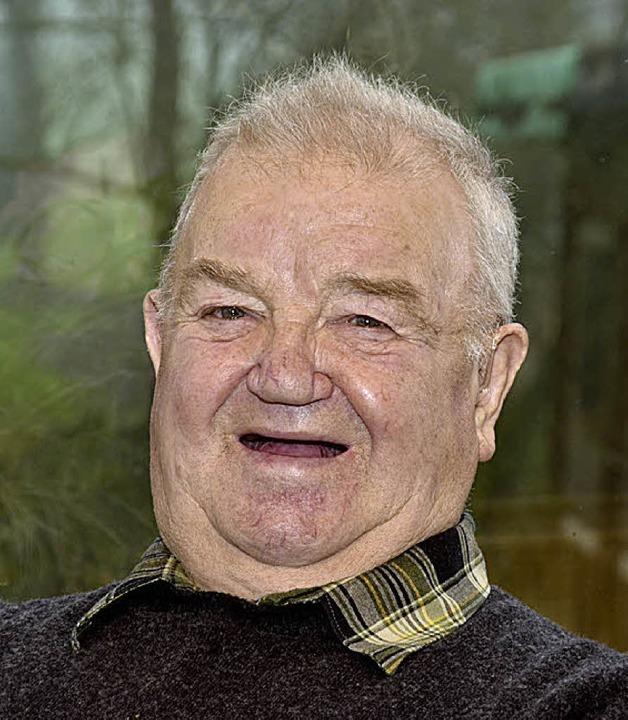 Am 26. Dezember feiert  Willi Gutjahr,...her aus Maleck seinen 80. Geburtstag.     Foto: Dieter Erggelet