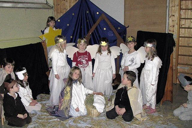 Die Engel tanzten freudig