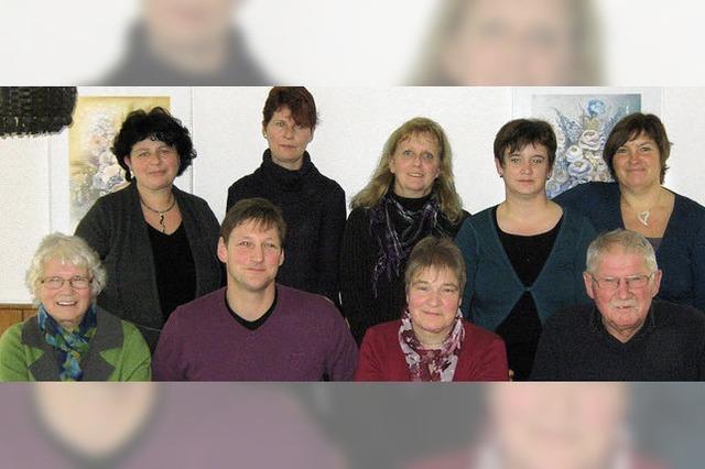 Mit neuem Vorstand und neuen Gesichtern