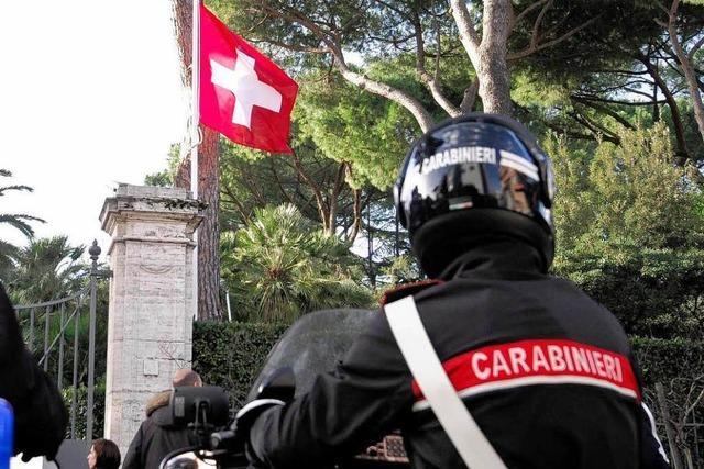 Briefbomben in Rom: Sorgen im Weihnachtstrubel