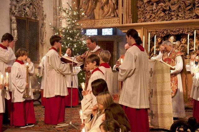 Weihnachtsgottesdienste waren sehr gut besucht