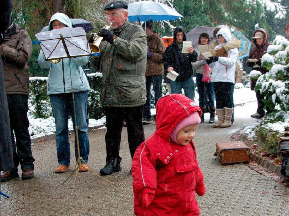 Aufwärm-Marsch  | Foto: Sylvia-Karina Jahn