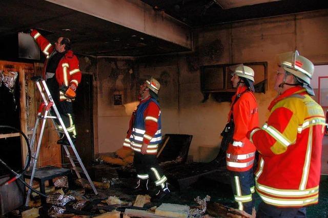 Brand in Sauna stört Feiertagsruhe der Wehr