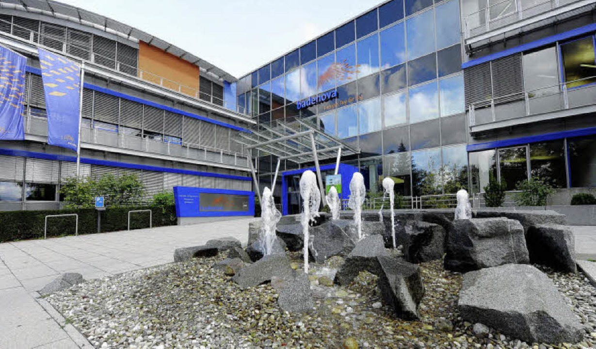 Die Freiburger Badenova-Zentrale ist k...sionär für das Gottenheimer Stromnetz.  | Foto: Ingo Schneider