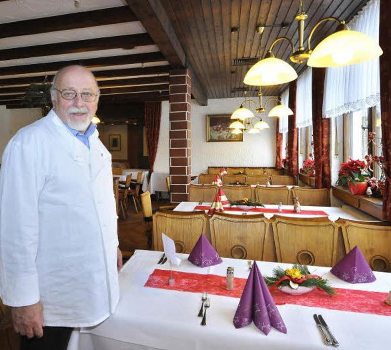 Markus Martin, der neue Eigentümer und...m. Er ist der Tradition verpflichtet.   | Foto: Bamberger