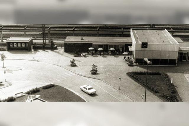 Bahnhof: Schon 1963 kostbar