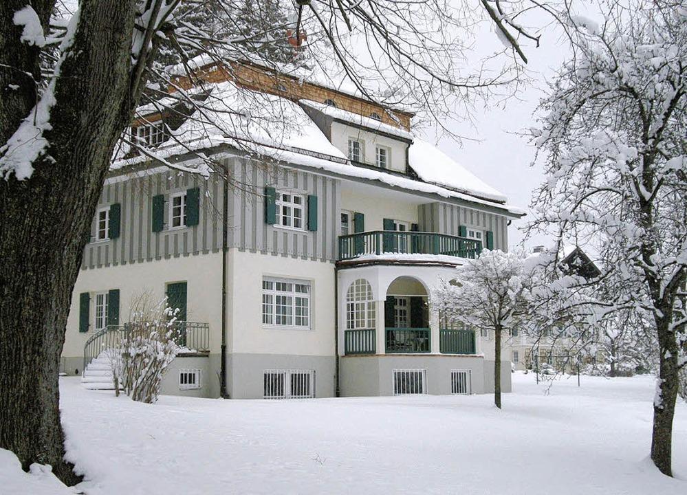 Quell der Inspiration: die Jugendstilvilla von Thomas Mann    Foto: diemar