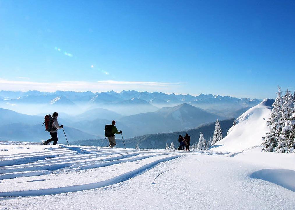 Panoramablick und Vesper inklusive: Sc...rbayerischen Alpenvorland bei Bad Tölz    Foto:  Tölzer Land Tourismus