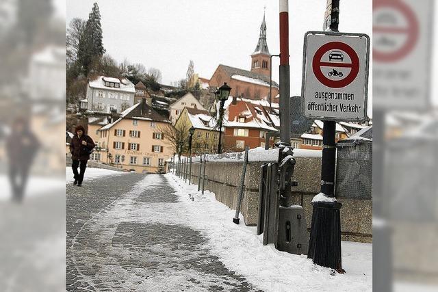 Brücke auch unter Aargauer Schutz