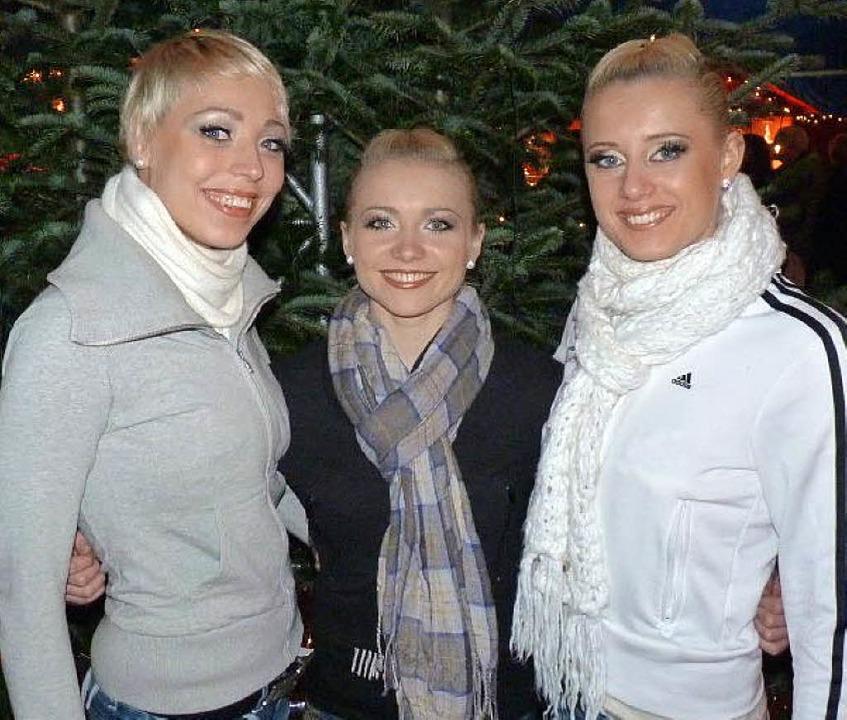 Das Trio Belissima begeistert<ppp></ppp>  | Foto: Weizenecker
