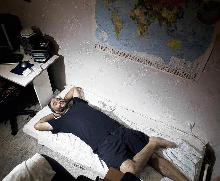 Ins Fremde eintauchen: der neuseeländische Wirtschaftsanwalt Kirin <ppp> </ppp>    Foto: Malte Jäger