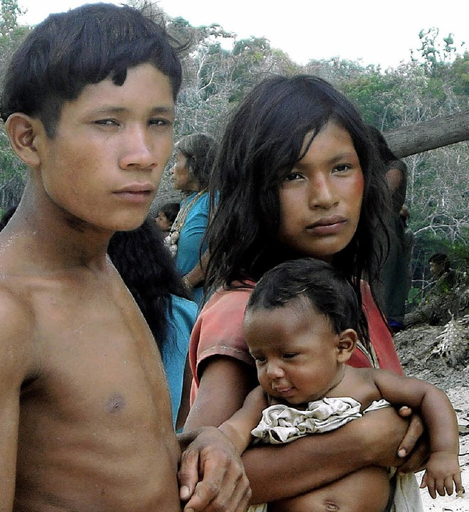 Pirahã-Indianer  | Foto: Toninho Muricy