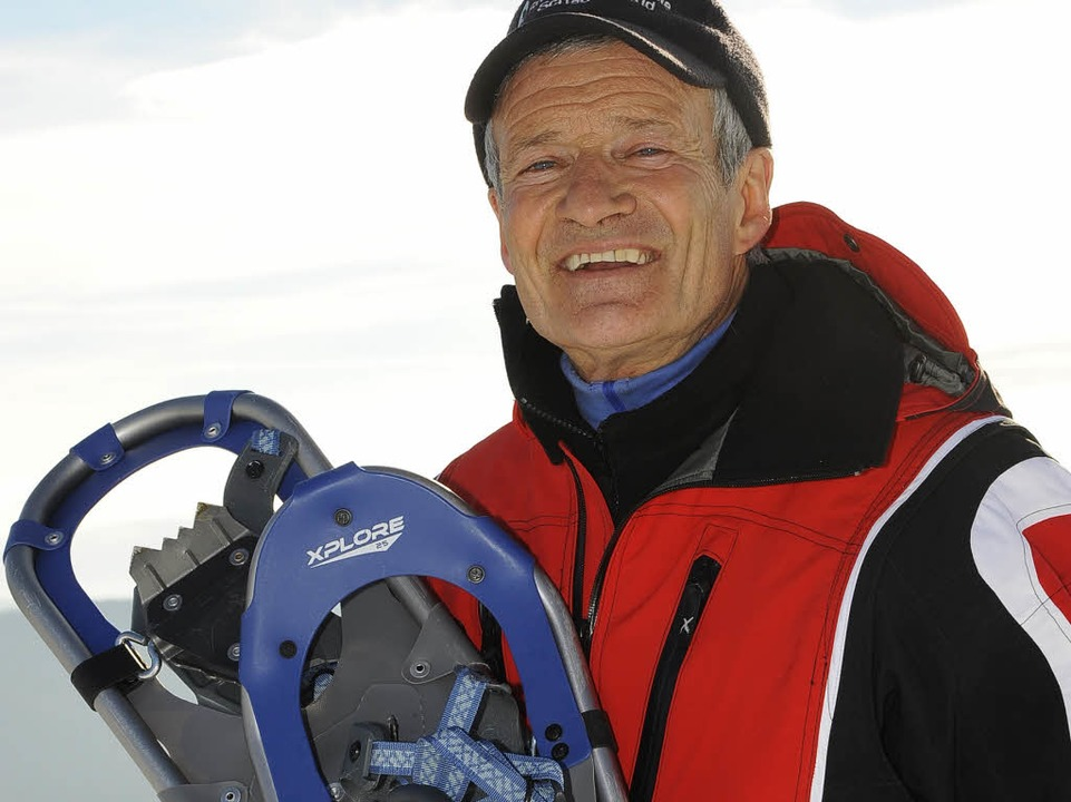 Schneeschuhwander-Experte Georg Rees.  | Foto: Ingo Schneider