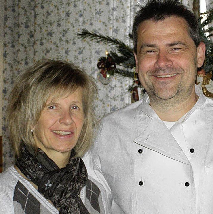 Angela und Jürgen Knoll vom Haus Steppacher.    Foto: Liane Schilling