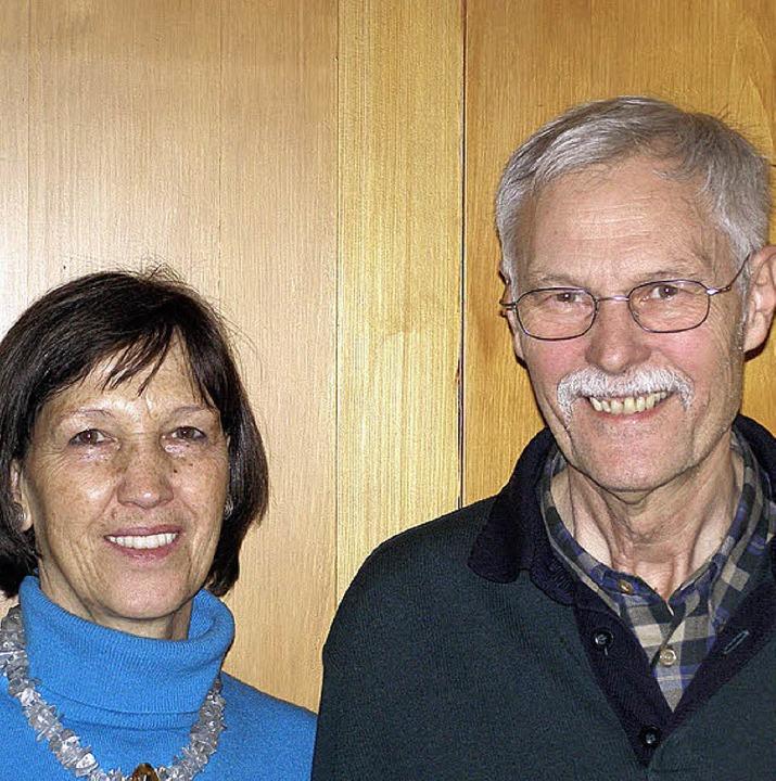 Josef und Daniela Ebi vom  Hotel Ebi in Friedenweiler.    Foto: Liane Schilling