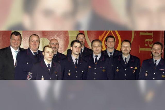 Kenzingens Feuerwehr startet ins 150. Jahr ihres Bestehens