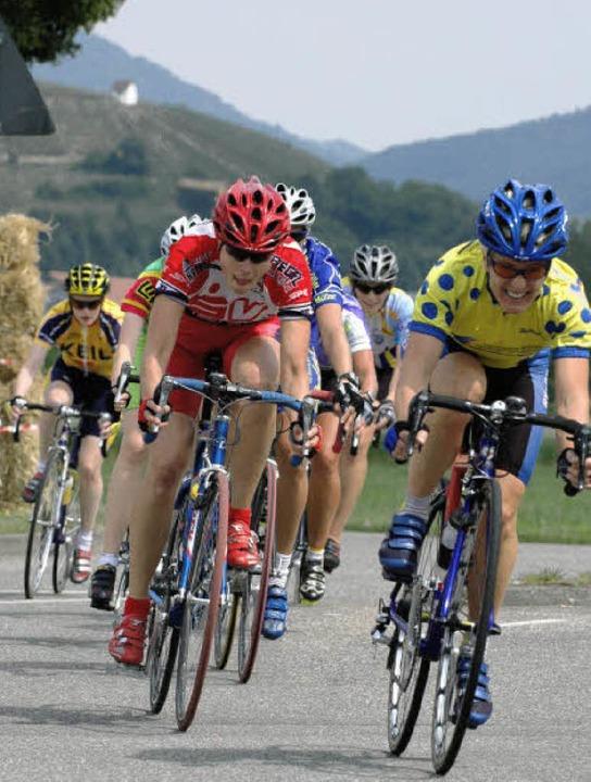 Unbeschwert dem Radsport frönen, wie h...e schon seit langem nur noch träumen.     Foto: markus zimmermann