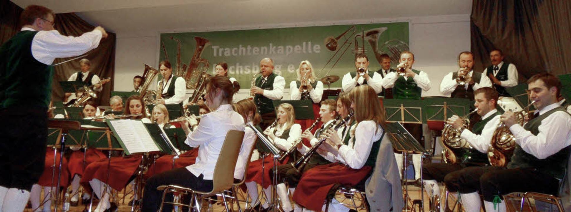 Das Dachsberger Blasorchester beherrsc...densten musikalischen Stilrichtungen.   | Foto: Sigurd Kaiser