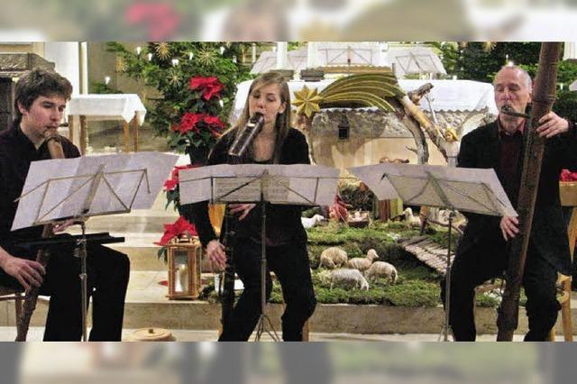 Ungewöhnliche Klänge aus 15 Flöten