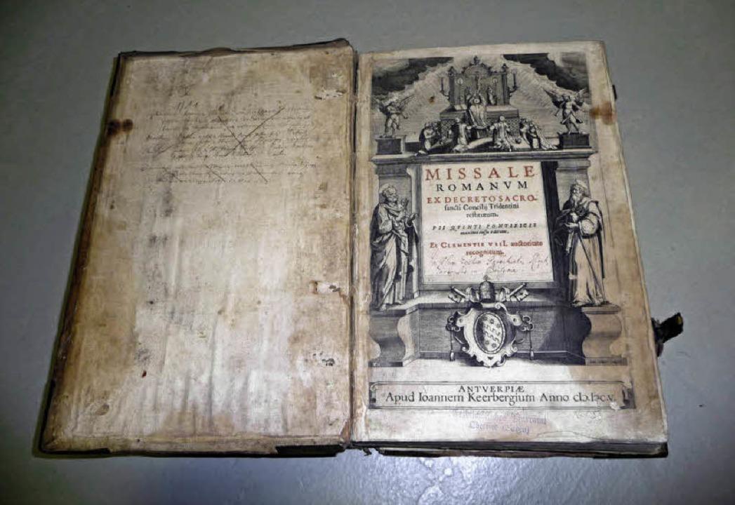 Missale Romanum, Antwerpen: gedruckt von Johannes Keerbergius 1605  | Foto: Odrich-Rees