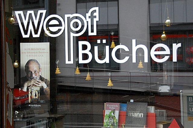 Buchhandlung Wepf gibt auf