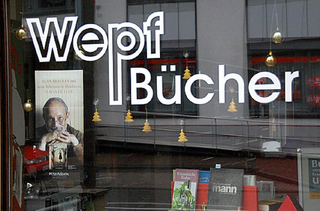 Buchladen in Haltingen     Foto: Lauber