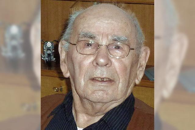 Arnold Meyer wurde 90 Jahre