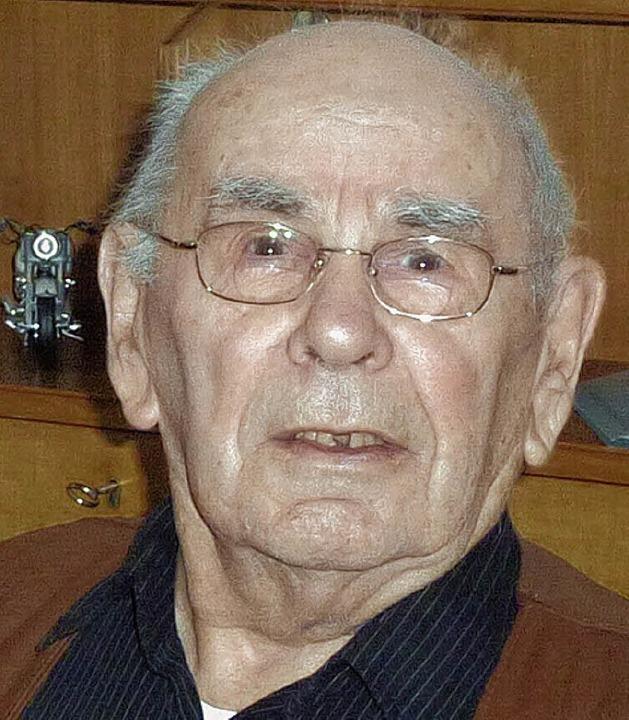 Arnold Meyer wurde 90 Jahre alt.   | Foto: Karlernst Lauffer