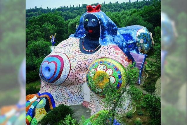 Kunstbuch: Niki de Saint Phalle und der Tarot-Garten