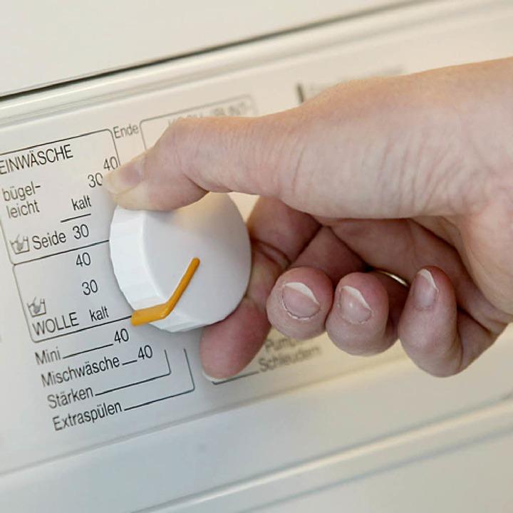 Die Nutzung einer Waschmaschine in der Wohnung gehört zum normalen Gebrauch.   | Foto: ddp