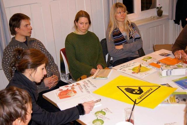 Greenpeace Lörrach gegen Gentechnik
