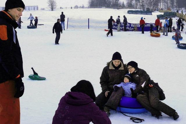 Reichlich Spaß im Schnee