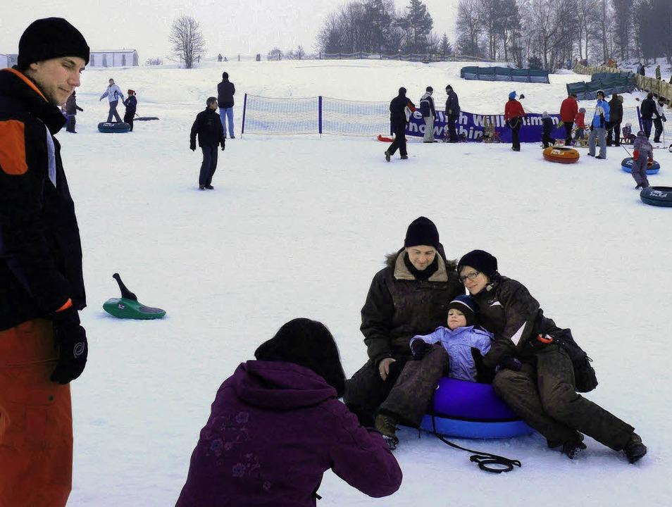 Wintervergnügen für die ganze Familie ...chsee, was im Foto festgehalten wird.     Foto: Ute Aschendorf