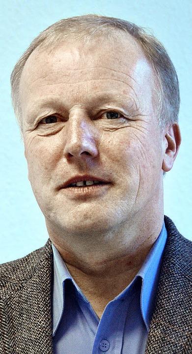 Der CDU-Bundestagsabgeordnete Peter We...erview in der Emmendinger BZ-Redaktion    Foto: Hans-Jürgen Truöl