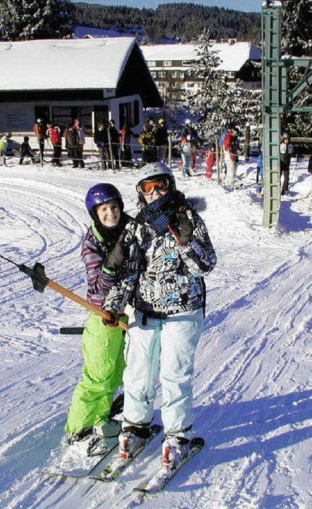 Am Skilift herrschte in den Ferien Hochbetrieb.    Foto: Wolfgang Adam